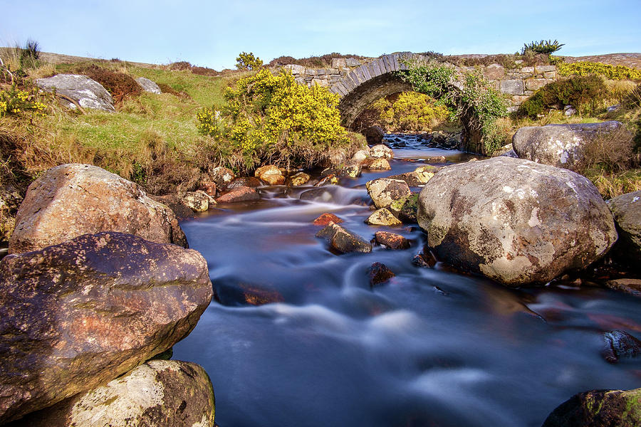 County Donegal Photograph - Poisoned Glen Bridge by Jose Maciel