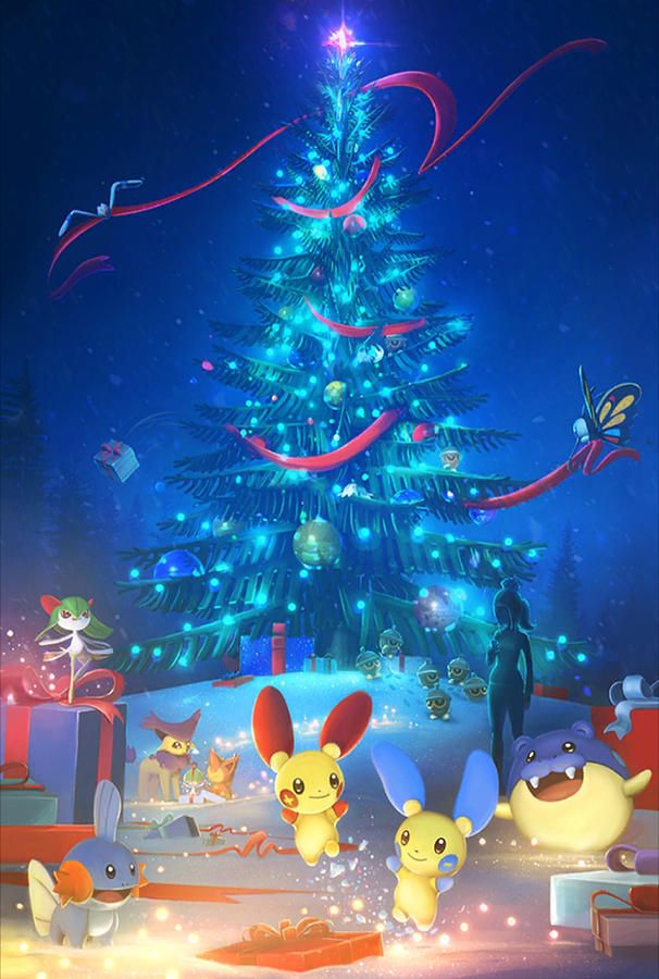 Pokemon Christmas.Pokemon Go Christmas 2017
