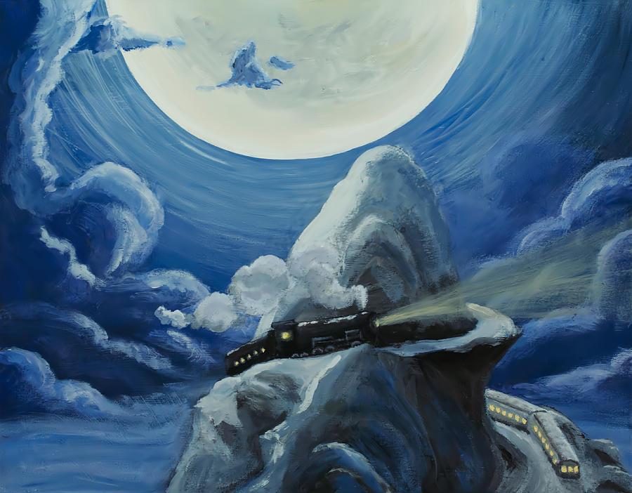 Polar Express Painting - Polar Express by Brian Nunes