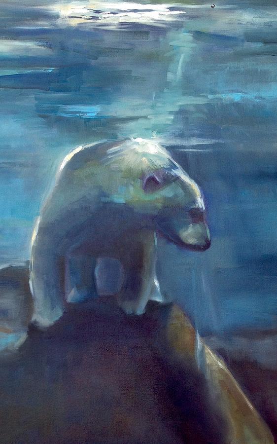 Polar Opposite Painting by Cynthia Mozingo