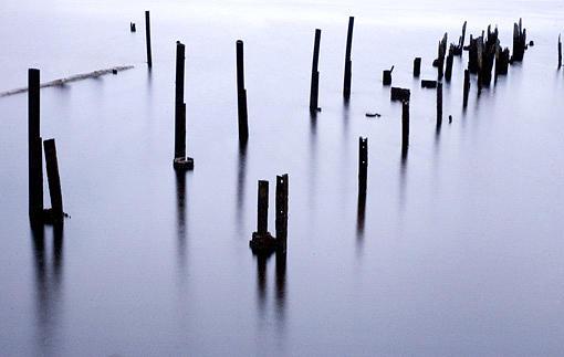 Landscape Photograph - Poles 2005 by Peter Adams