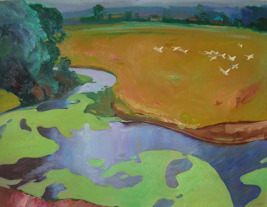 Landscape Painting - Polesia by Sergey Ignatenko