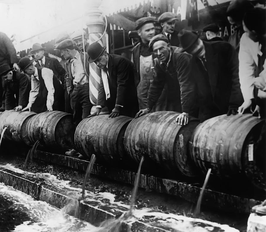 prohibition of the 1920s Prohibition went into operation on january 16, 1920 the volstead or prohibition  enforcement act, passed by congress on october 28, went into effect with.