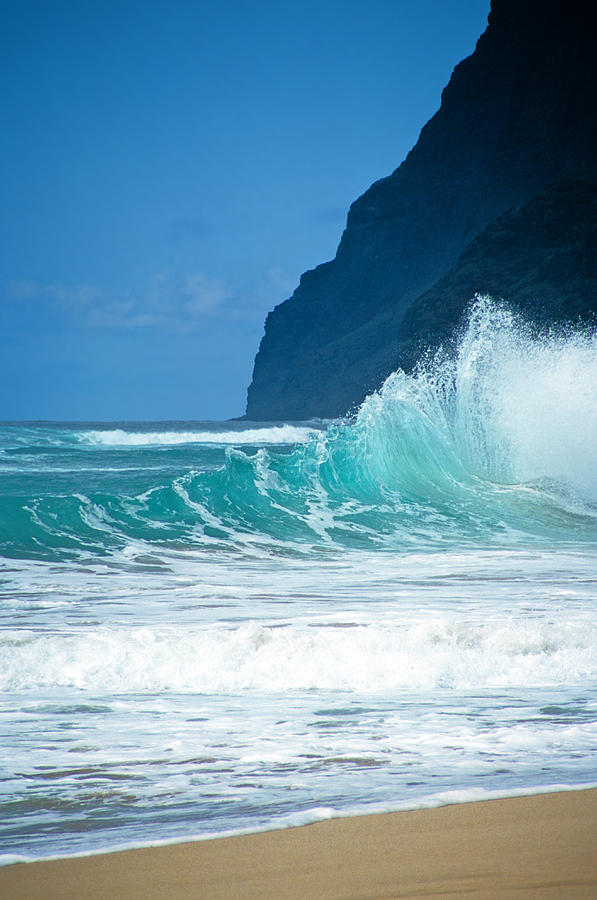 Hawaii Photograph - Polihale Beach  by Kevin Smith