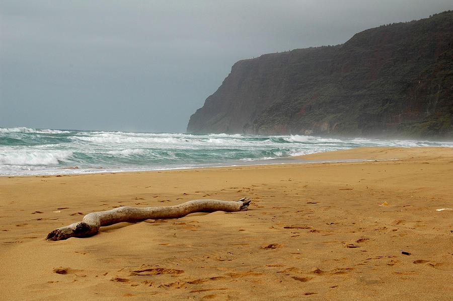 Beach Photograph - Polihale State Park by Kathy Schumann