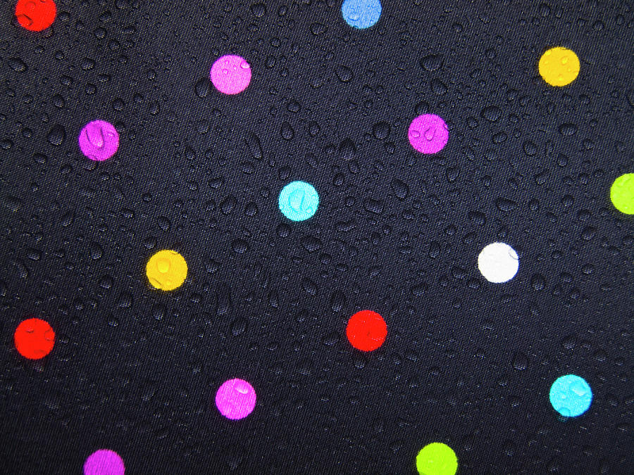 Polka Dot Photograph - Polka Dot Umbrella by Christopher Johnson