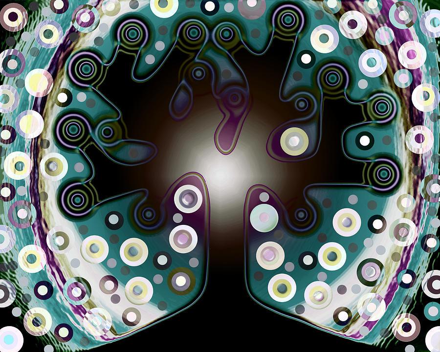 Polka Dots Tree 2 Painting By Valentina Kross
