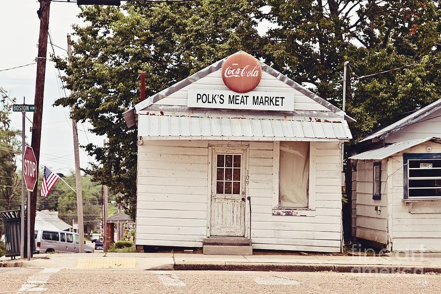 Meat Market Photograph - Polks Meat Market by Scott Pellegrin