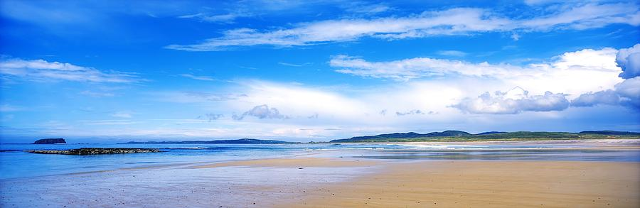 Coast Photograph - Pollan Strand, Inishowen, County by The Irish Image Collection