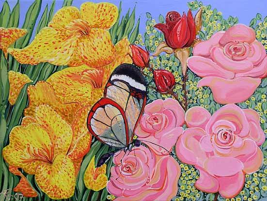 Pollination Painting - Pollination by Renee Kilburn