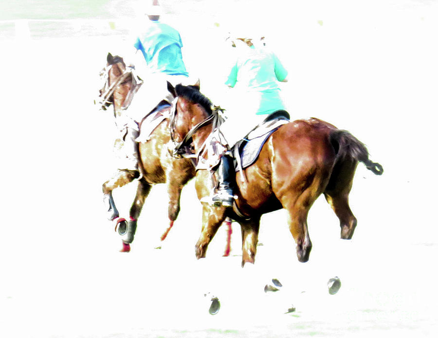 Polo Ponies 4 by Christy Garavetto
