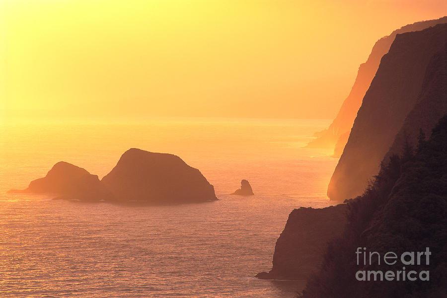 Big Photograph - Pololu Valley Lookout by Greg Vaughn - Printscapes
