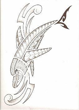 Poly Dolphine Drawing by Kamu Kamu