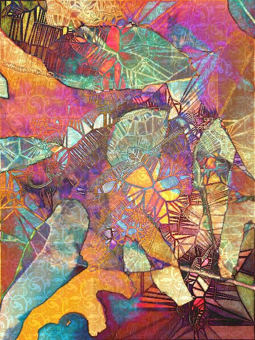 Polynesian Dance Digital Art - Polynesian Dance by Pamela Smale Williams