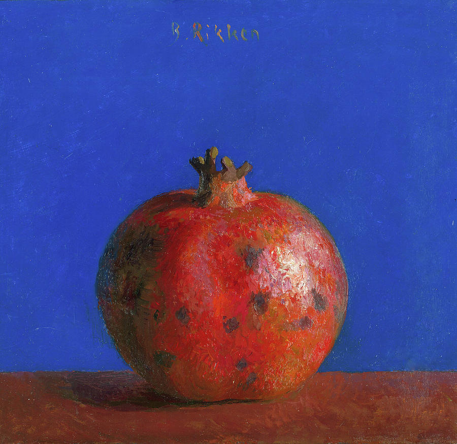 Fruit Painting - Pomegranate by Ben Rikken
