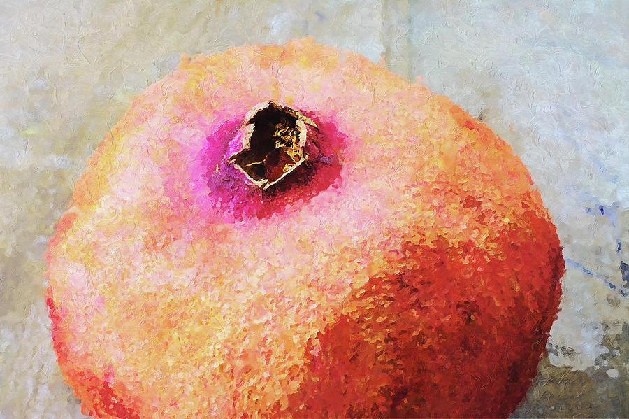 Pomegranate Photograph - Pomegranate II by Pekka Liukkonen