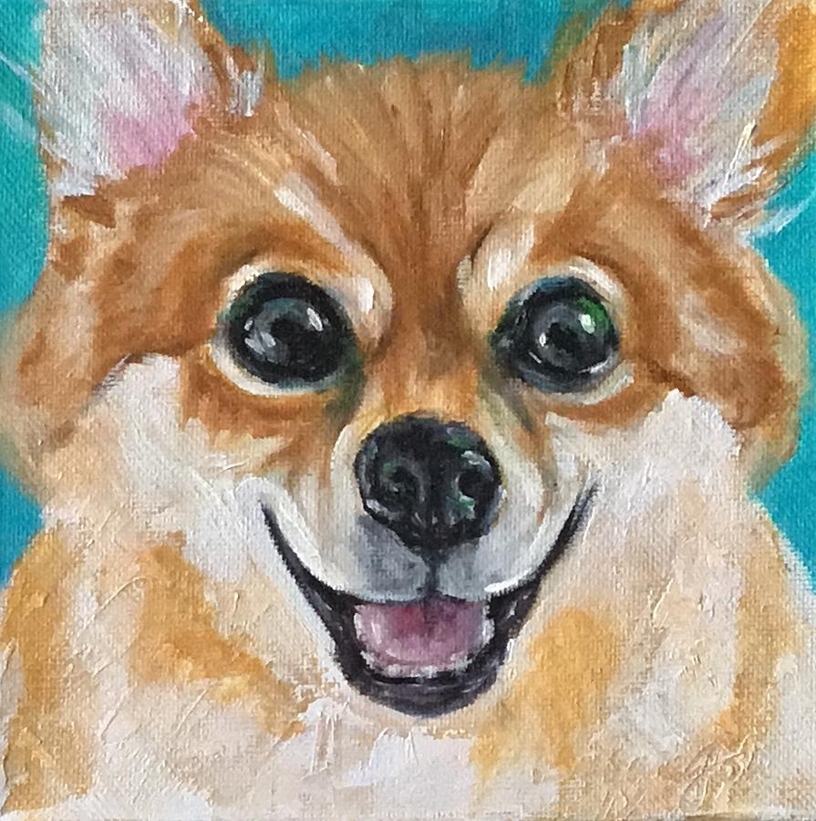 Pomeranian Dog by Susan Goh