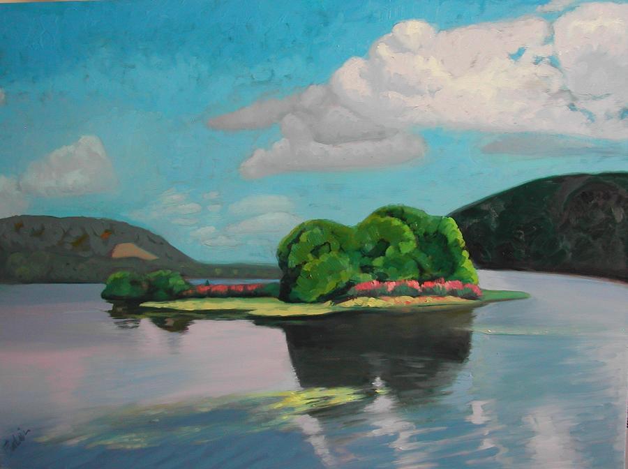 New Jersey Landscape Painting - Pompton Lakes Nj by Eva Wittlinger