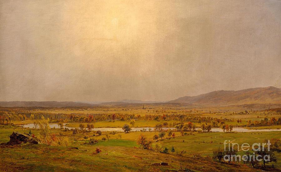 Pompton Plains Painting - Pompton Plains, New Jersey, 1867 by Jasper Francis Cropsey