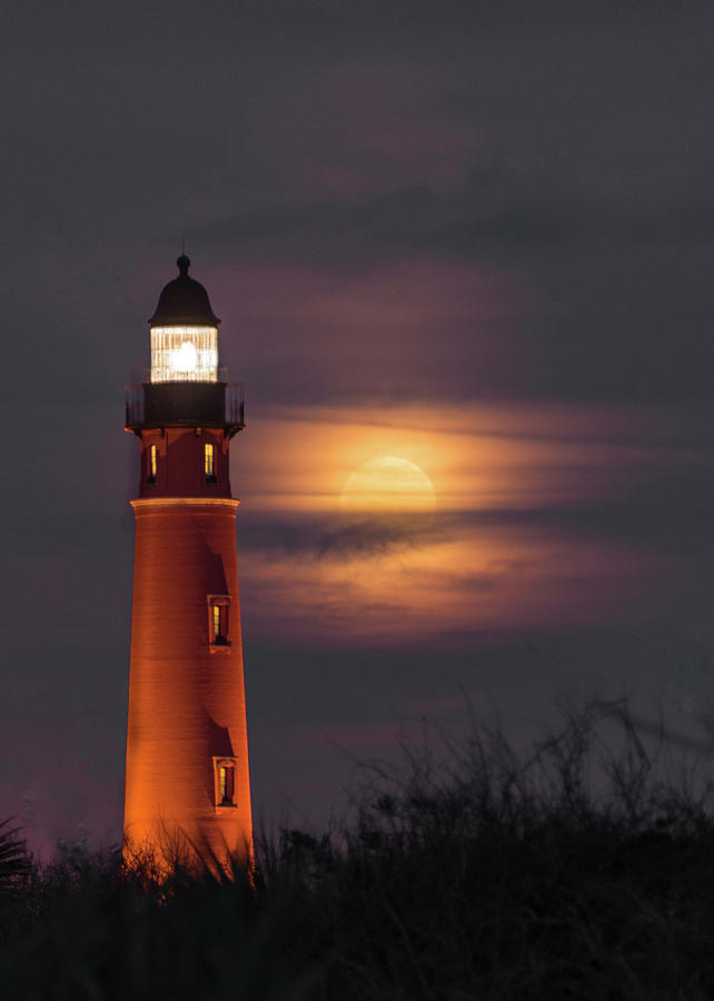 Ponce de Leon Full Moon by Norman Peay