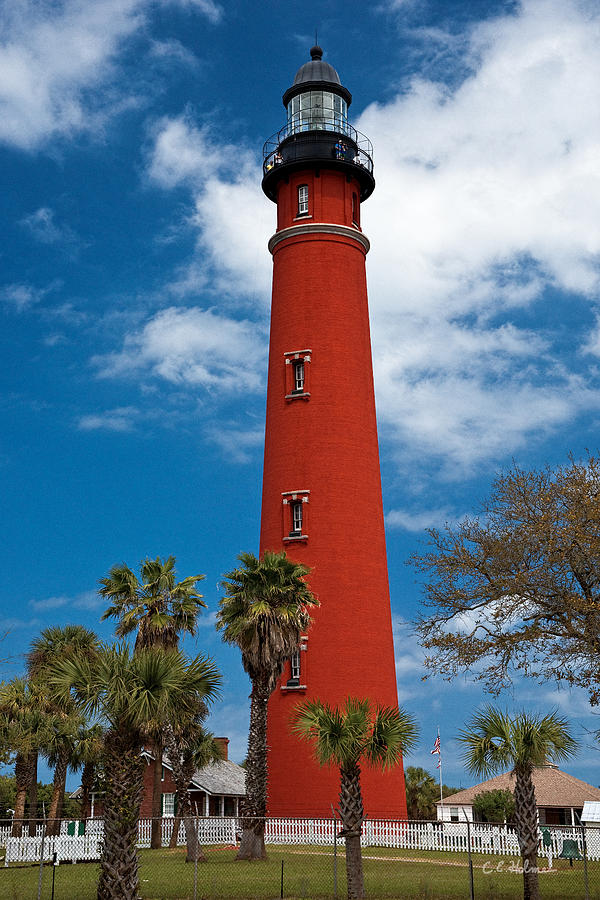 Lighthouse Photograph - Ponce Inlet Lighthouse by Christopher Holmes