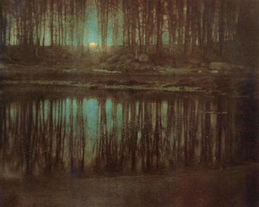 Pond Moonlight by Edward Steichen