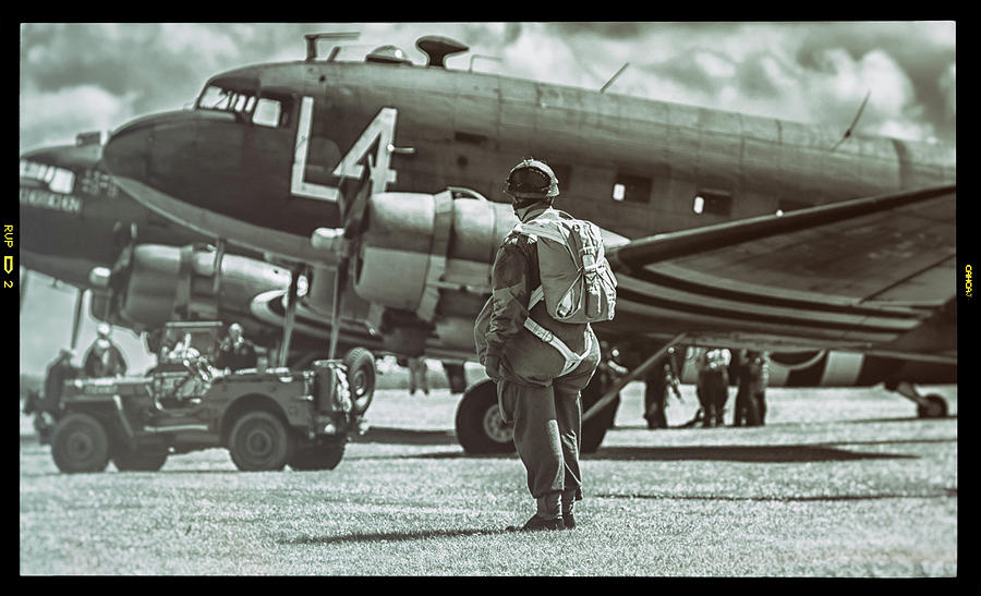 Duxford Photograph - Pondering by Martin Newman
