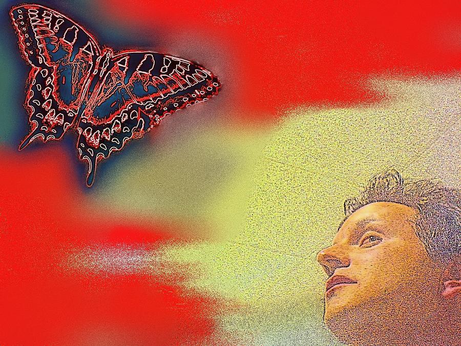 Pondering Wings by Andy Rhodes
