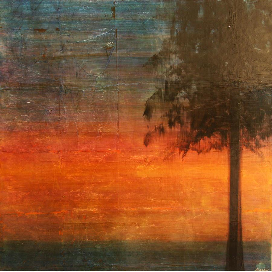 Oil Mixed Media - Ponderosa Pine by Patt Nicol