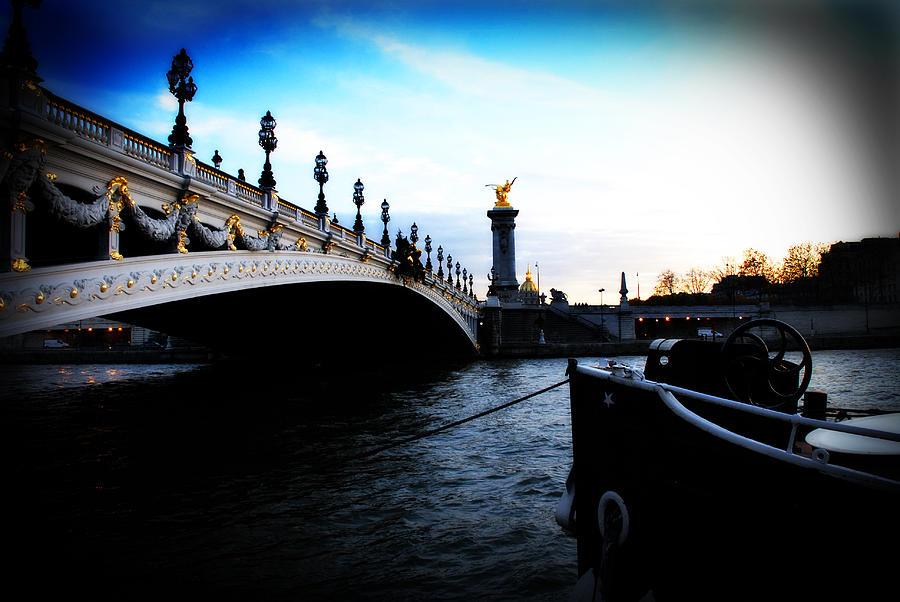 Paris Photograph - Pont Alexandre by Cabral Stock
