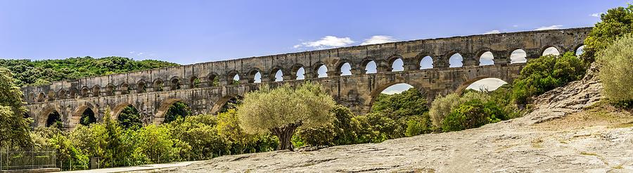 Pont du Gard  by Jim Collier