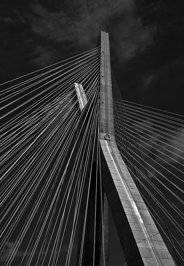 Ponte Estaiada Photograph by Guilherme Costa