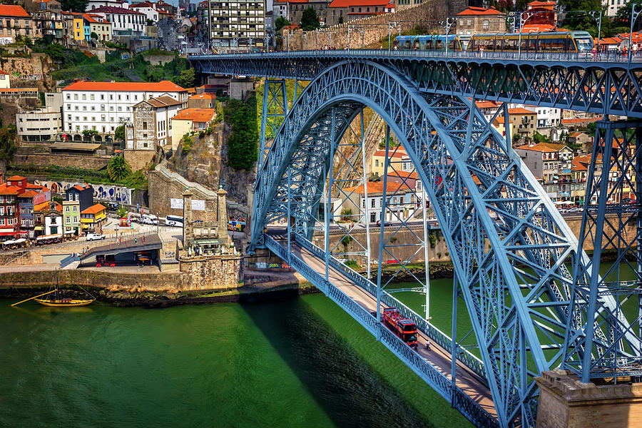 Ponte Luis Porto Portugal Photograph