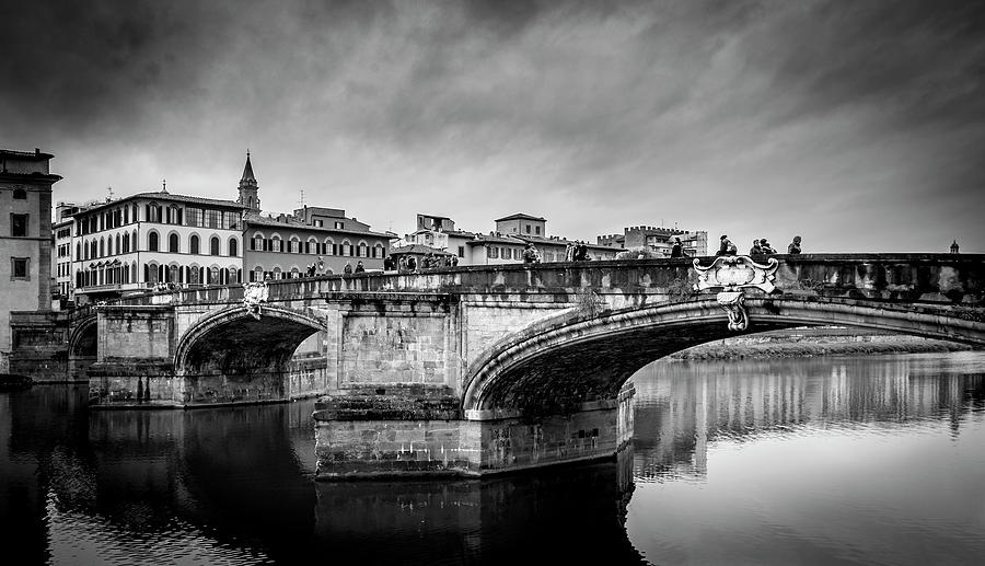 Ponte Santa Trinita by Sonny Marcyan