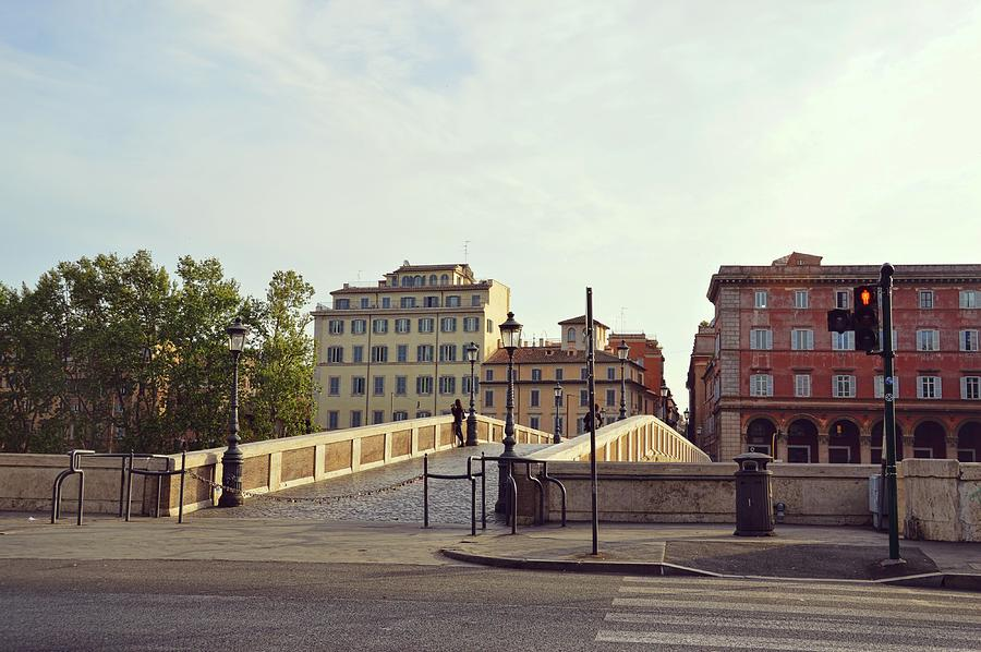 Italy Photograph - Ponte Sisto by JAMART Photography
