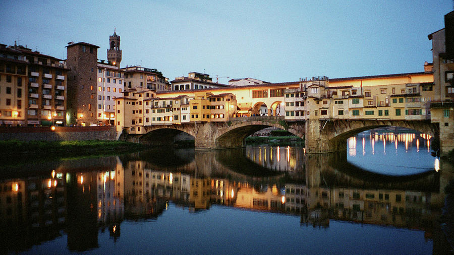 Italy Photograph - Ponte Vecchio by Dick Goodman