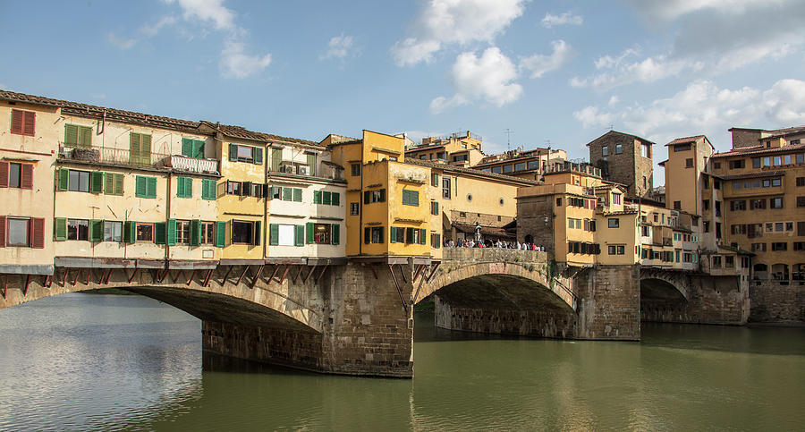 Ponte Vecchio In Florence Italy Photograph