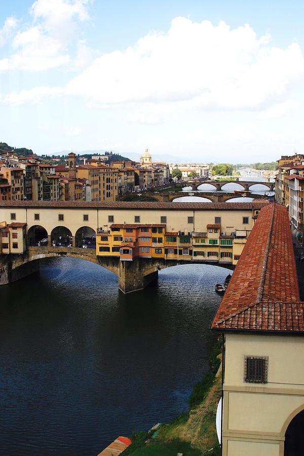 Florence Photograph - Ponte Vechio Florence by Mathew Lodge