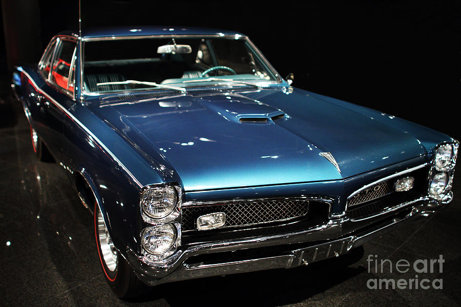 Transportation Photograph - Pontiac Gto 2 by Wingsdomain Art and Photography
