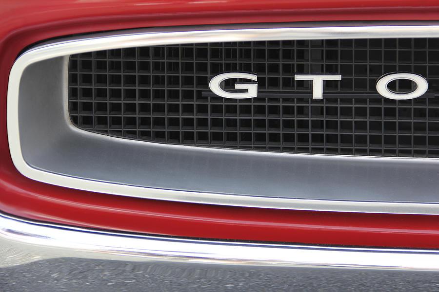 Gto Photograph - Pontiac Gto  by Mike McGlothlen