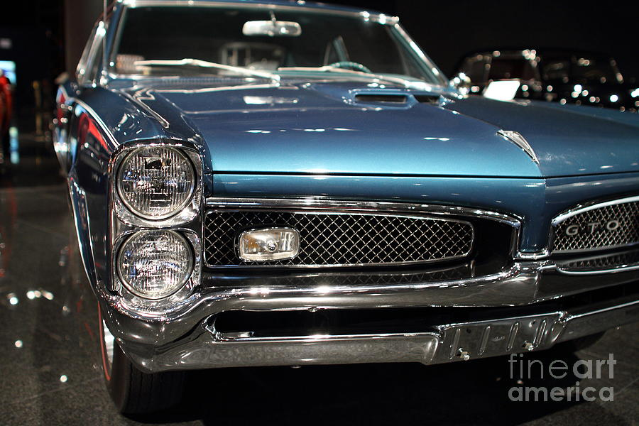1965 Photograph - Pontiac Gto by Wingsdomain Art and Photography