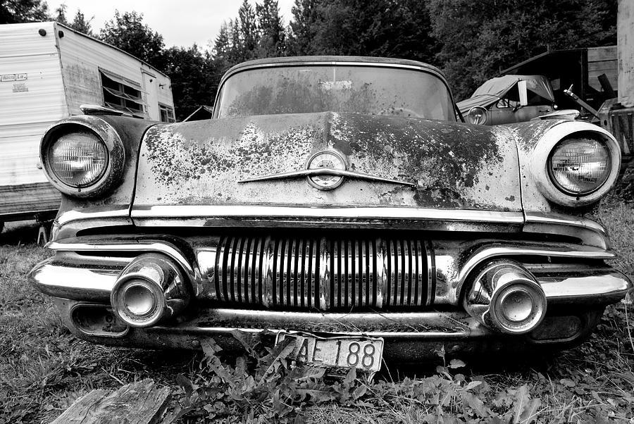 Car Photograph - Pontiac Smile 2 by Jennifer  Owen