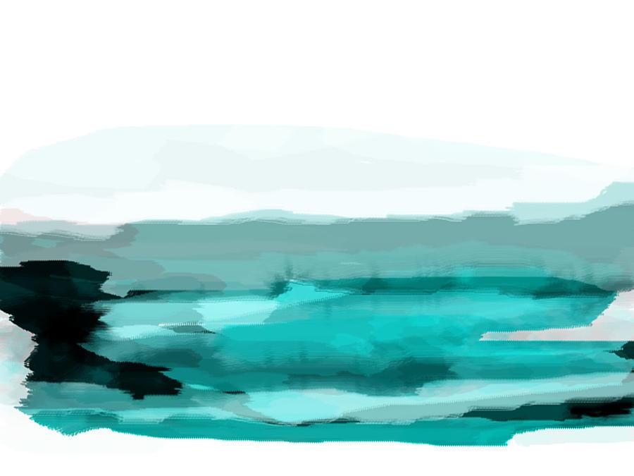 Pool Painting - Pool by KR Moehr