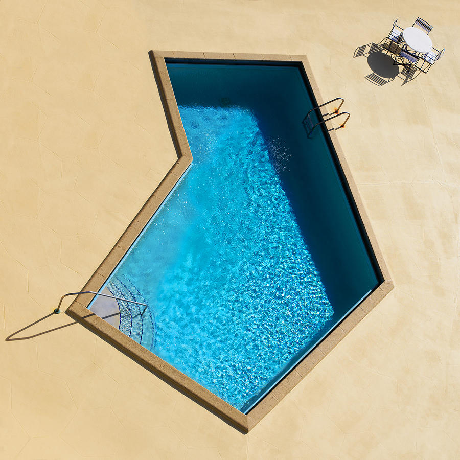 Pool Photograph - Pool Modern by Laura Fasulo
