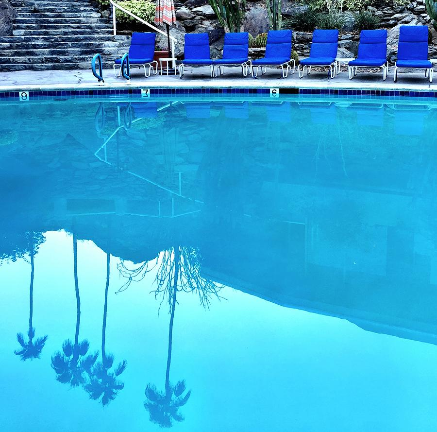 Pool Reflection Photograph by Julie Gebhardt