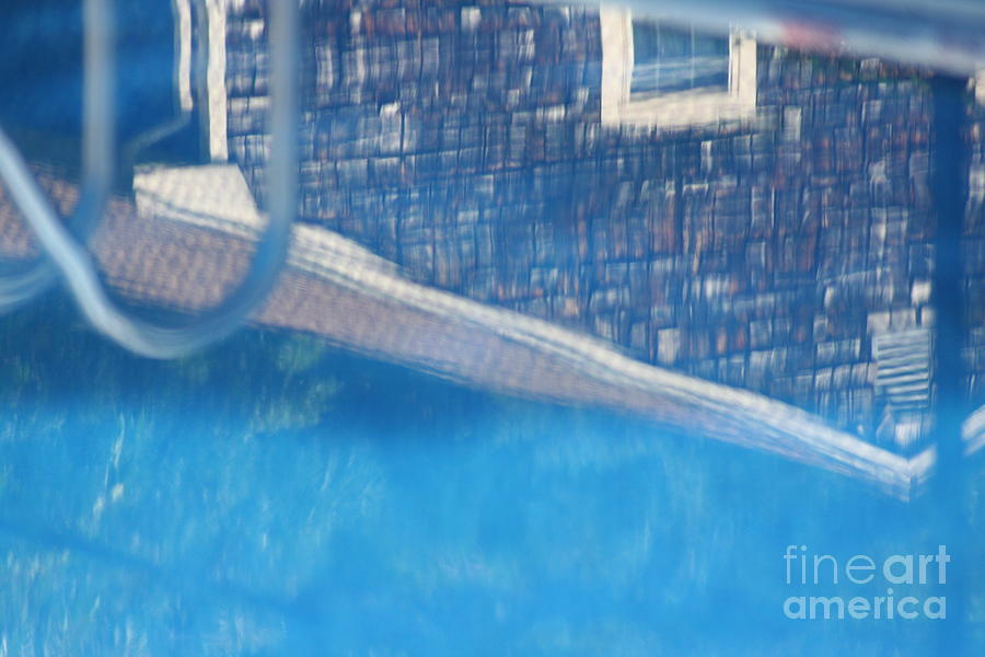 Pool Photograph - Poolhouse by Amy Holmes