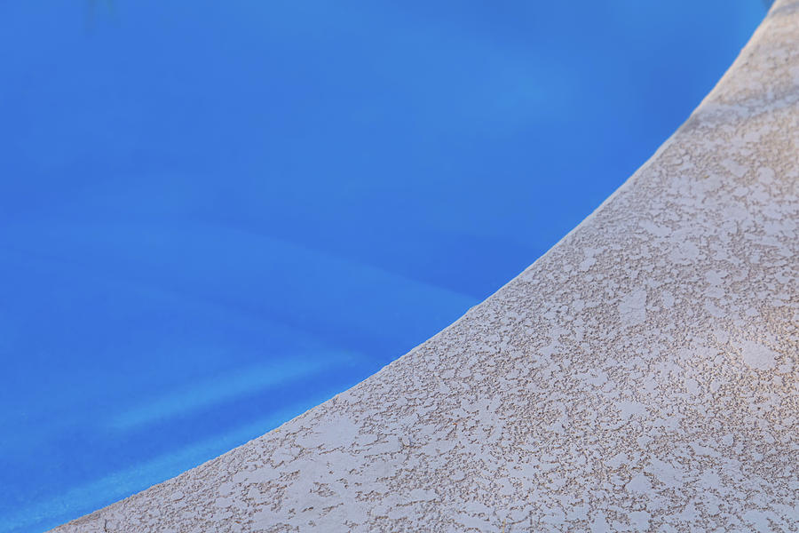 Abstract Photograph - Poolside by James BO Insogna