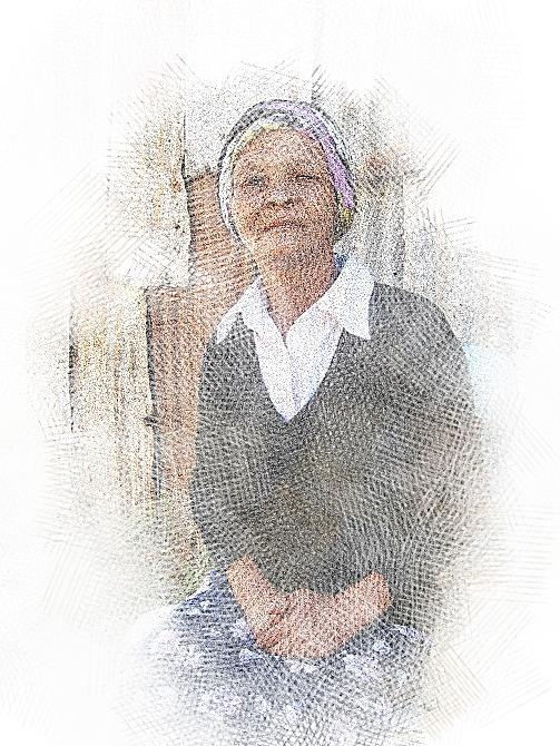 Digital Art - Poor But Proud by Jan Hattingh