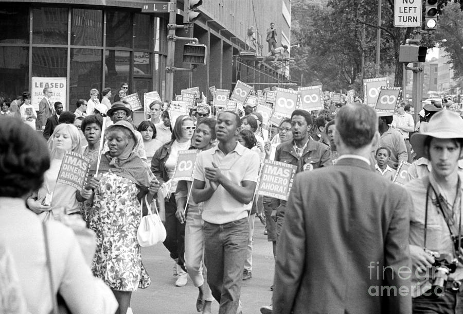 1968 Photograph - Poor Peoples March, 1968 by Granger