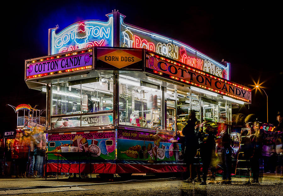 Fair Photograph - Pop And Candy by Bryan Moore